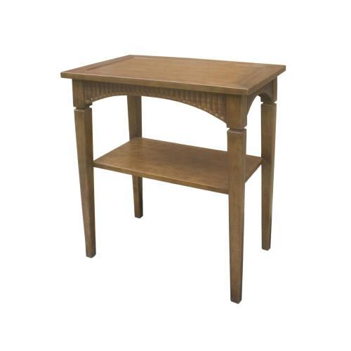 Elliott Side Table w/ Shelf