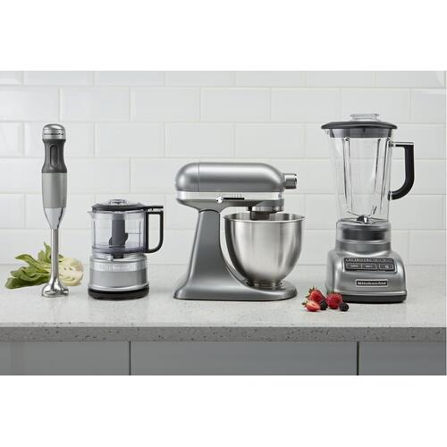 5-Speed Diamond Blender - Contour Silver