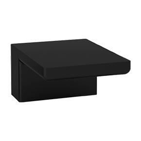 Milan Deck Mount Tub Filler SQU Black