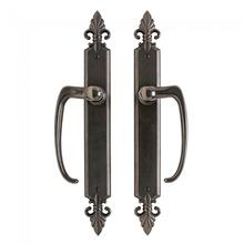 "View Product - Bordeaux Sliding Door Set - 2"" x 17"" Silicon Bronze Brushed"