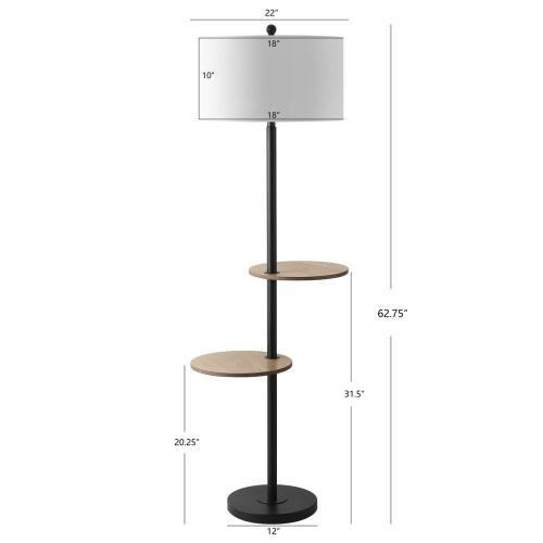 Kelsen Floor Lamp - Matte Black