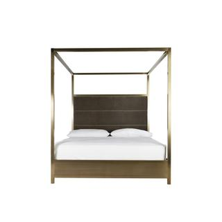 See Details - Harlow Cal King Canopy Bed