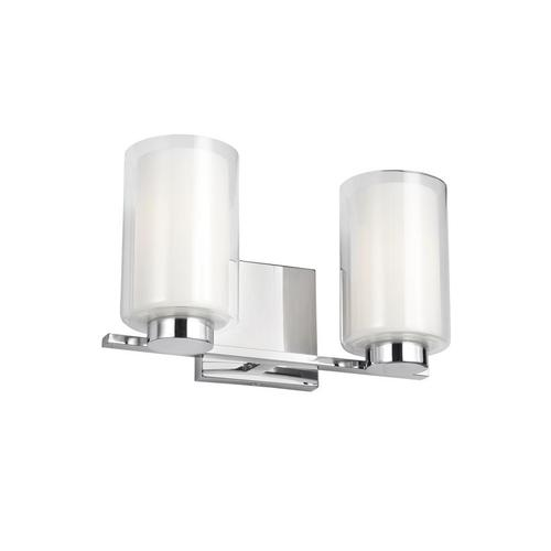 Bergin 2 - Light Vanity Chrome