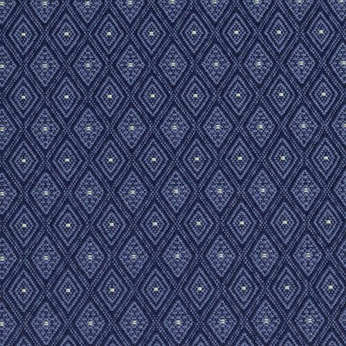 Flash Furniture - HERCULES Series 18.5''W Church Chair in Bedford Patriot Blue Fabric - Gold Vein Frame
