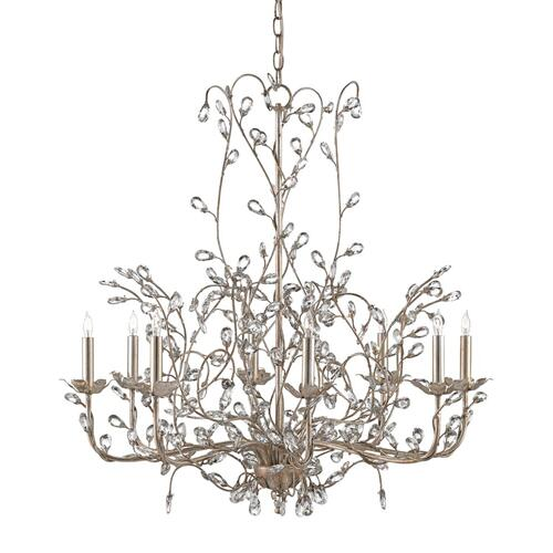 Gallery - Crystal Bud Silver Large Chandelier