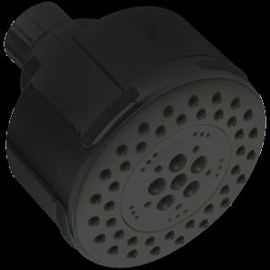 Multifunction Round Showerhead Black Product Image