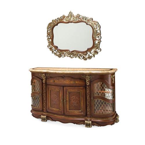 Sideboard amd Mirror