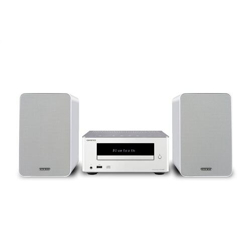 Colibrino CD Hi-Fi Mini System with Bluetooth (White)