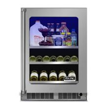 "24"" Beverage Center - VBUI Viking Professional Product Line, Left Hinge/Right Handle"