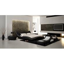 Modrest J215B - Contemporary Eco-Leather Bed