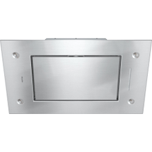 Ceiling extractor with energy-efficient LED lighting and backlit controls for easy use.