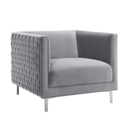 Tov Furniture - Sal Grey Woven Chair