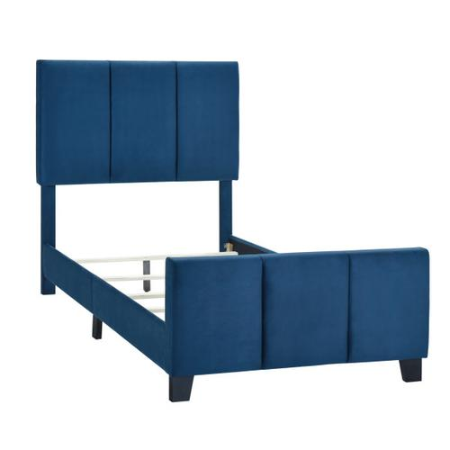 Accentrics Home - Twin Modern Channel Bed in Nile