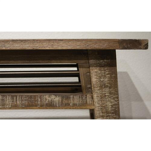 Rowan - Sofa Table - Rough-hewn Gray Finish