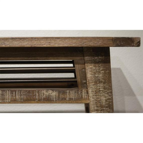 Riverside - Rowan - Sofa Table - Rough-hewn Gray Finish