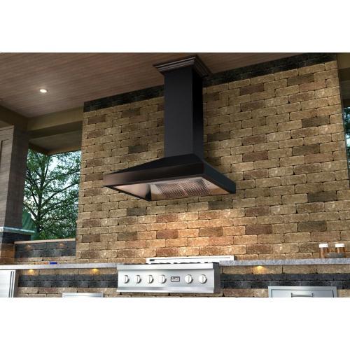8667b30 In By Zline Kitchen And Bath In Glenside Pa Zline 30 Designer Series Oil Rubbed Bronze Wall Range Hood 8667b 30