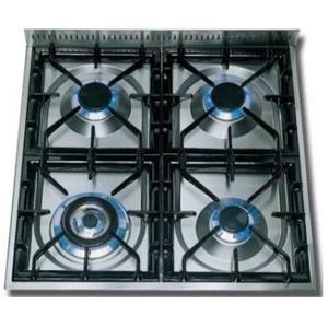 24 Inch Gloss Black Natural Gas Freestanding Range