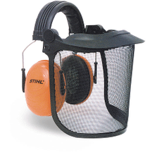 Delivers face and hearing protection in a lightweight package.