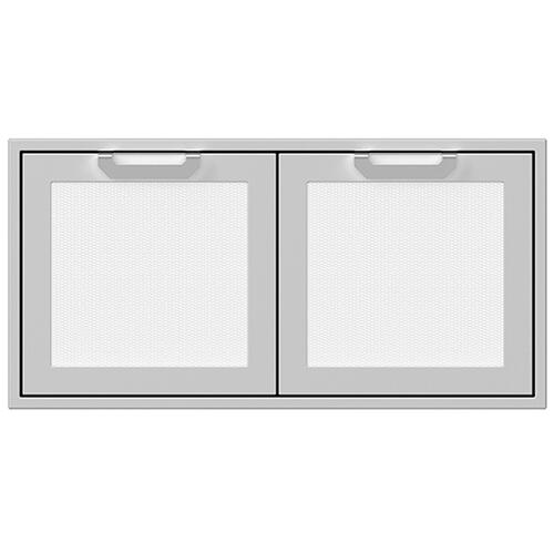 "42"" Hestan Outdoor Double Access Doors - AGAD Series - Froth"