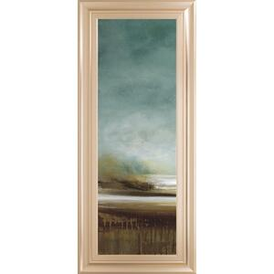 """New Horizons I"" By Tesla Framed Print Wall Art"
