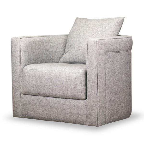 See Details - Adrian Swivel Chair in Durbin Light Gray