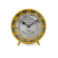Essentials Mellow Yellow Desk Clock