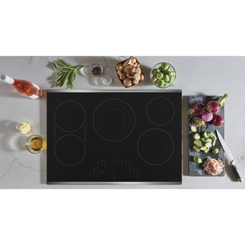 "Café 30"" Electric Cooktop Stainless Steel"
