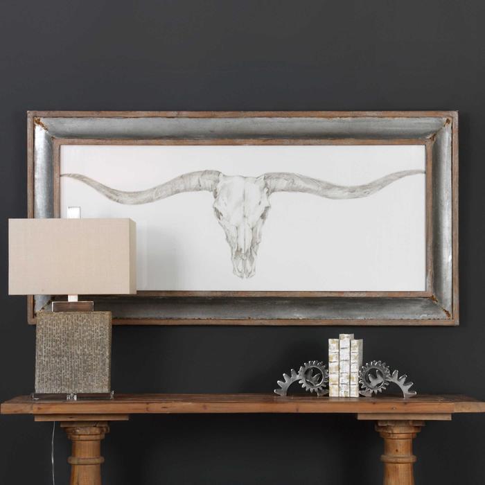 Uttermost - Western Skull Mount Framed Print