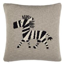 Zazu Pillow - Grey/natural/black