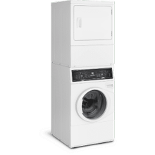 CLOSEOUT White Stacked Washer/Dryer: SF7 (Electric)