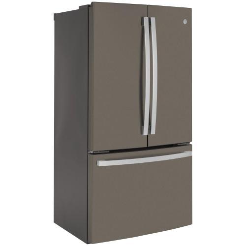 GE® ENERGY STAR® 23.1 Cu. Ft. Counter-Depth French-Door Refrigerator