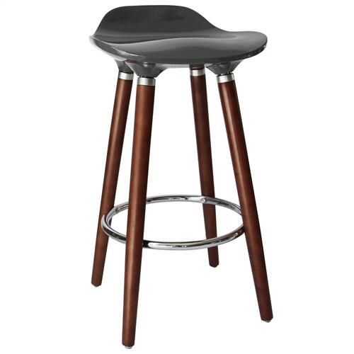 Trex II 26'' Counter Stool, set of 2 in Grey