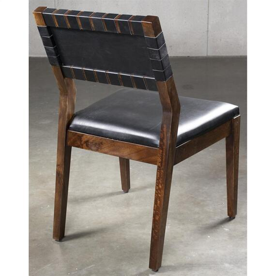 Riverside - Mix-n-match Chairs - Woven Back Side Chair - Hazelnut Finish