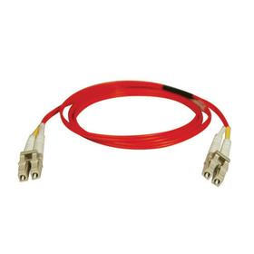 Duplex Multimode 62.5/125 Fiber Patch Cable (LC/LC) - Red, 3M (10 ft.)