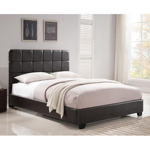 Kenora Platform Bed - King, Brown