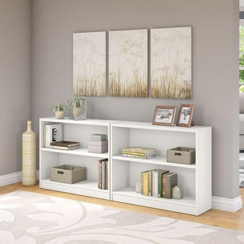 Universal Bookcases 2 Shelf Bookcase