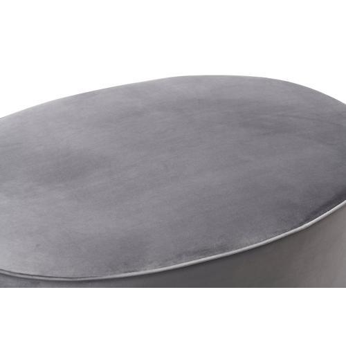 Tov Furniture - Scarlett Grey Ottoman