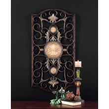 Micayla Large Metal Wall Panel