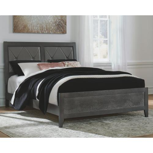 Delmar Queen Upholstered Panel Bed