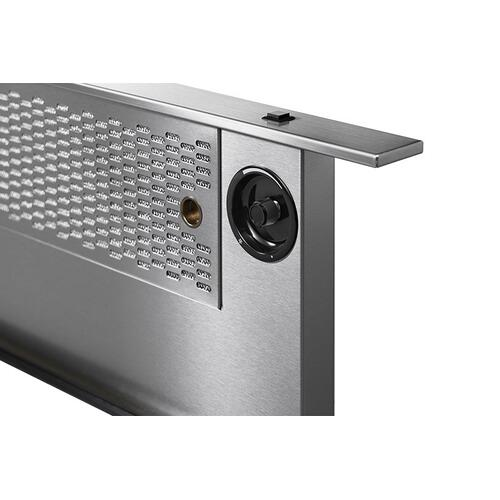 "36"" Downdraft, Silver Stainless Steel"