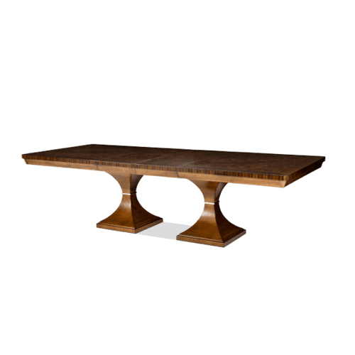 Rectangular Double Pedestal Dining Table (2 pc)