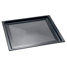 Perforated Gourmet baking tray for everything that is crunchy and crisp.