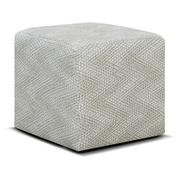 1857RC Castile Cocktail Ottoman with Casters Product Image