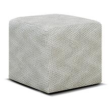 1857RC Castile Cocktail Ottoman with Casters