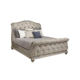 Summer Creek Shoals Upholstered Tufted Sleigh California King Bed