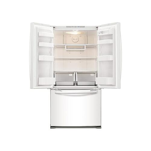 20 cu. ft. French Door Refrigerator in White