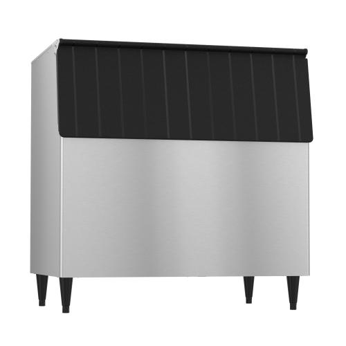 """B-700SF, 44"""" W Ice Storage Bin with 700 lbs Capacity - Stainless Steel Exterior"""