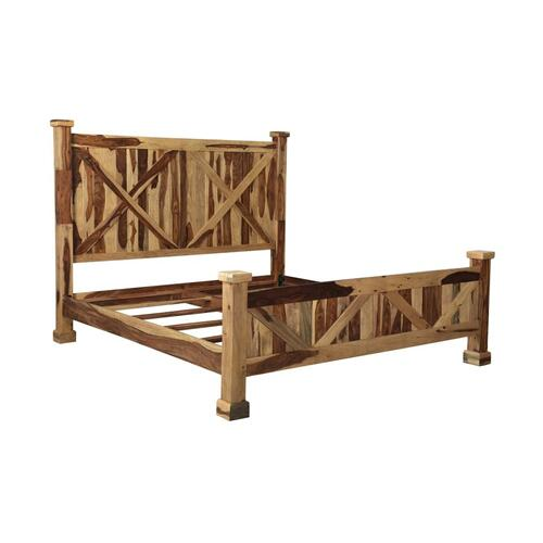 Porter International Designs - COMING SOON, PRE-ORDER NOW! Crossroads Natural Bedroom Set, VAC-C001