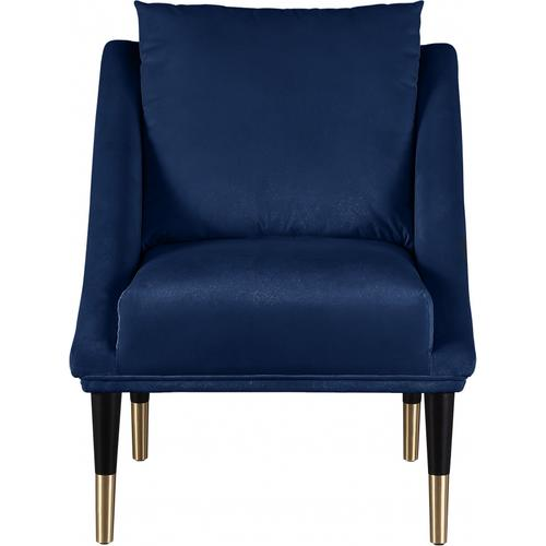 "Elegante Accent Velvet Chair - 26"" W x 30.5"" D x 33.5"" H"
