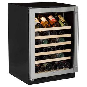 Marvel24-In Built-In Single Zone Wine Refrigerator with Door Swing - Left